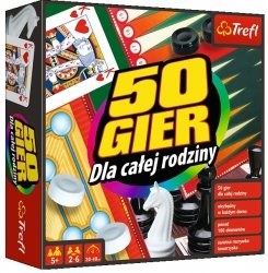Zestaw gier Kalejdoskop 50 gier Trefl 00746