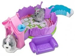 Zhu Zhu Puppies Domek Taras dla piesków TM Toys 81150