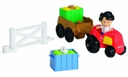 Traktor z Przyczepą Little People Fisher Price Y8202
