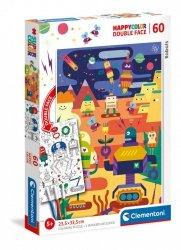 Puzzle Roboty 60 el. Clementoni 26061