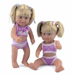 Lalka bobas do kąpieli Little Sunshine 25 cm Dolls World 08530