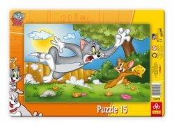 Puzzle Ramkowe Tom & Jerry 15 el. Trefl 31072
