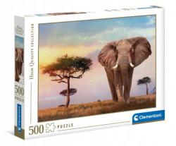 Puzzle Afrykański Zachód Słońca 500 el. Clementoni 35096