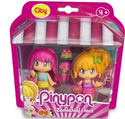 Pinypon City Na zakupach 2-pack Laleczek 7 cm z Akcesoriami Epee FPP16610
