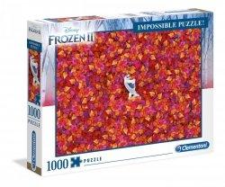 Puzzle Frozen 2 Kraina Lodu 2 Olaf 1000 el. Clementoni 39526
