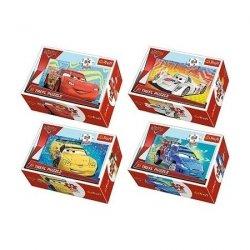 Puzzle Cars 2 Przed wyścigiem 54 el. Trefl 54146