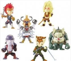 Mini figurki Thundercats saszetka Bandai 84135