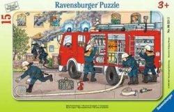 Puzzle Ramkowe Straż pożarna 15 el. Ravensburger 063215