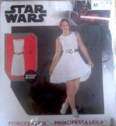 Strój Karnawałowy Kostium Księżniczka Leia Star Wars r. M 38/40