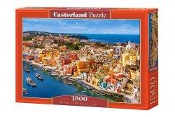Puzzle Przystań Corricella Włochy 1500 el. Castorland 15176