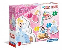 Moje Pierwsze Puzzle Księżniczki Disneya 3/6/9/12 el. Clementoni 20813