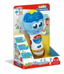 Zabawka Baby mikrofon Clementoni 17181
