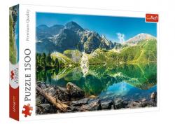 Puzzle Morskie Oko Jezioro Tatry 1500 el. Trefl 26167