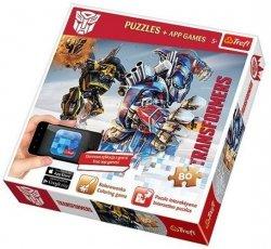 Puzzle Transformers z aplikacją 80 el. Trefl 75102