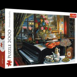 Puzzle Dźwięki Muzyki 2000 el. Trefl 27112