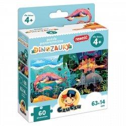 Puzzle Panoramiczne Dinozaury 60 el. CzuCzu 49130
