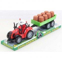 Traktor z Przyczepą na Platformie 30 cm