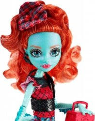 Lalka Monster High Upiorna wymiana Lorna McNessie Mattel CDC36