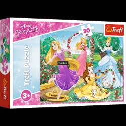 Puzzle Być Księżniczką 30 el. Disney Princess Trefl 18267