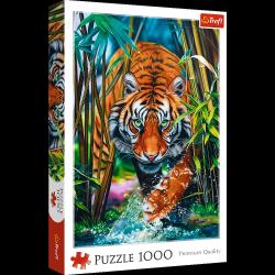 Puzzle Drapieżny Tygrys 1000 el. Trefl 10528