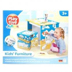 Kreatywne Mebelki dla dzieci Biurko i krzesło Play Tive 38102