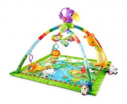 Interaktywna mata edukacyjna Rainforest Fisher Price DFP08