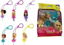 Lalki Barbie mini B Breloczek Mattel