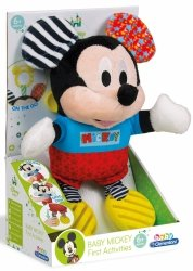 Maskotka Edukacyjna Baby Myszka Miki Mój pierwszy pluszak Disney Clementoni 17165