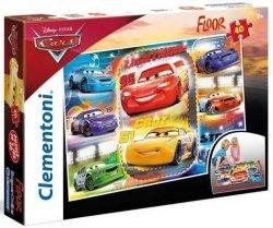 Puzzle podłogowe 40 el. Cars 3 Clementoni 25455