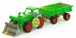 Traktor z Ładowarką i Przyczepą Technik 63 cm Polesie Wader 63 cm