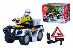 Strażak Sam Quad Policyjny z Figurką Malcolma Simba 9251093