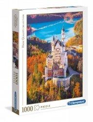 Puzzle HQ Zamek Neuschwanstein 1000 el. Clementoni 39382