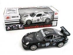Porsche 911 RC na radio z ładowarką 1:16 Playme 55982