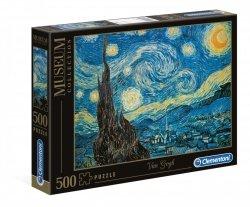 Puzzle Gwiaździsta Noc Van Gogh 500 el. Clementoni 30314
