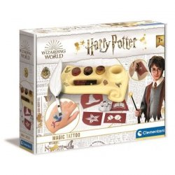 Harry Potter Magiczne Tatuaże Clementoni 18671