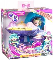 Deser Bananowy Zestaw Cupcake Surprise TM Toys 1138