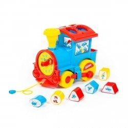 Logiczna lokomotywa sorter Smerfy Polesie 64363