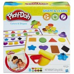 Kolory i kształty Ciastolina Play-Doh Hasbro B3404