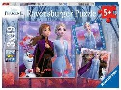 Puzzle 3w1 Frozen 2 Kraina Lodu 2 3x49 el. Ravensburger 050116