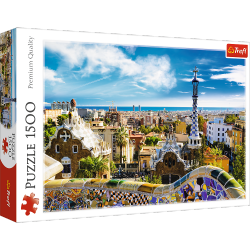 Puzzle Park Guell Barcelona 1500 el. Trefl 26147