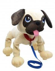 Piesek Boogie Psi Rozrabiaka Skacze jak sprężyna robi fikołki zabawka Epee 02608