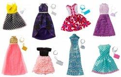 Modne kreacje Barbie Mattel FCT22