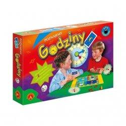 Gra edukacyjna Poznajemy godziny Alexander 0209