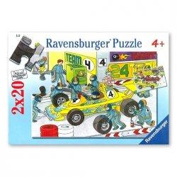 Puzzle Na torze wyścigowym 2x20 el. Ravensburger 088926