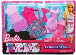 Barbie Studio Projektowe Akcesoria Mattel BBY95