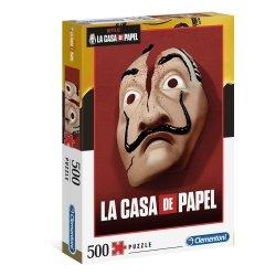 Puzzle Dom z Papieru La Casa De Papel Netflix 500 el. Clementoni 35085