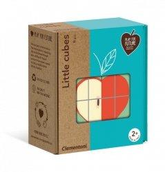 Klocki Małe kostki Owoce Clementoni 50171