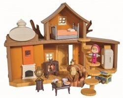 Dwupoziomowy Domek Niedźwiedzia Miszy Zabawka Masza i Niedźwiedź Simba 9301032