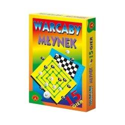 Gra planszowa Warcaby Młynek Alexander 0077