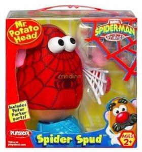 Pan Kartoflana Głowa SpiderMan Playskool 02422